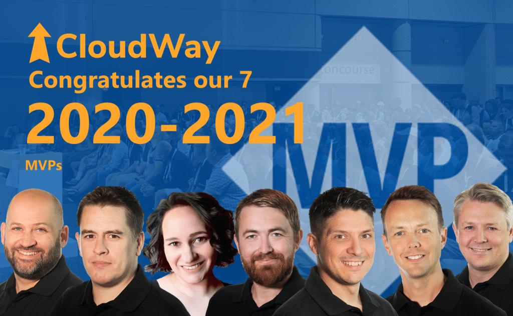 CloudWay COngratulates 7 MVPs