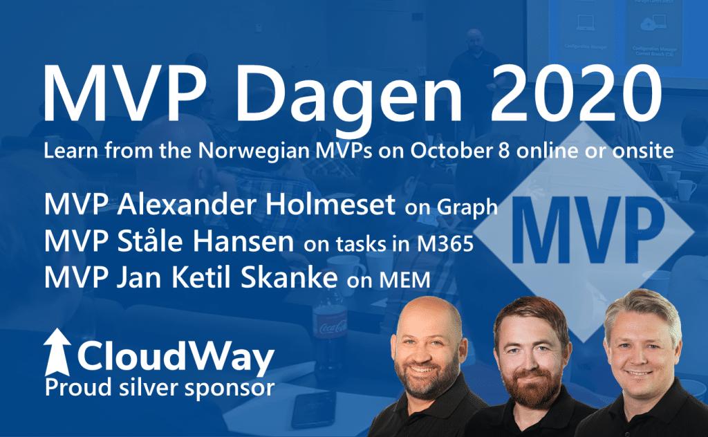 CloudWay MVP Dagen 2020