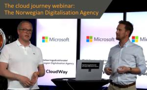 The cloud journey webinar
