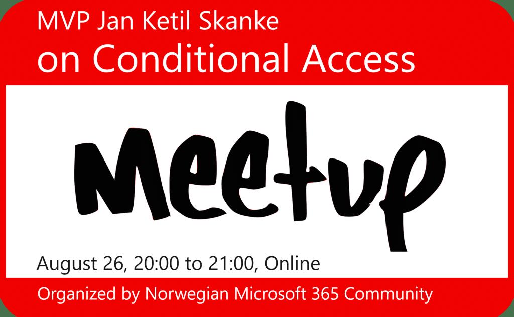 Meetup August 26, 2020