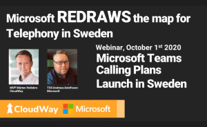 Microsoft REDRAWS the map for Telephony in Sweden