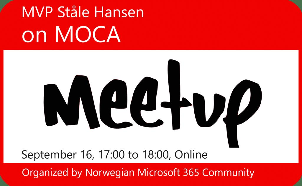 MVO Stale Hansen on MOCA
