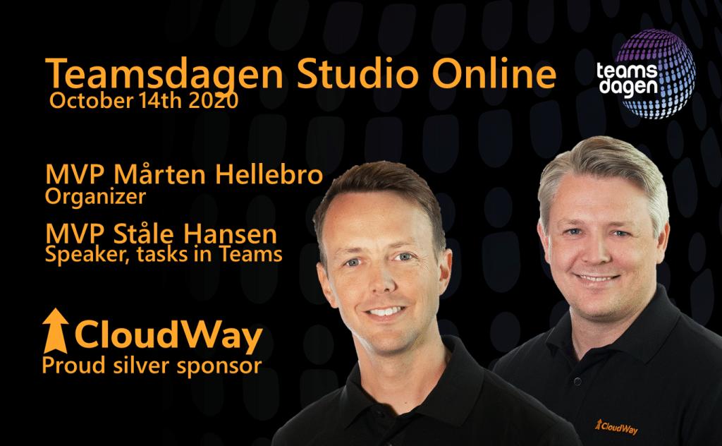 Teamsdagen Studio Online - CloudWay