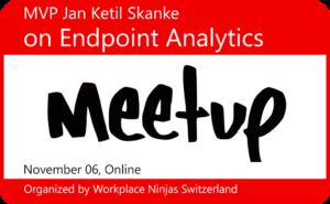 Endpoint Analytics - Meetup