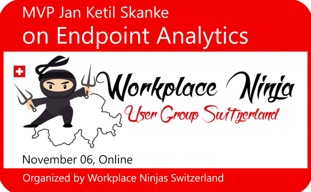 Workplace Ninja User Group Switzerland