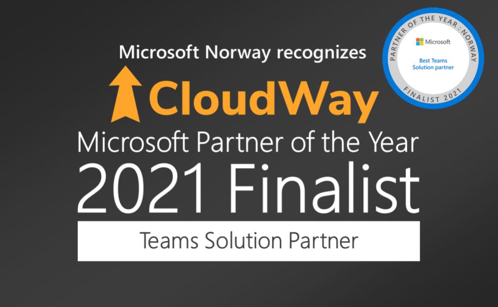 2021 CloudWay awards